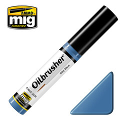 Ammo by MIG Sky Blue Oilbrusher For Model Kits MIG 3528