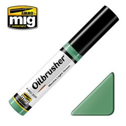Ammo by MIG Mecha Light Green Oilbrusher For Model Kits MIG 3529