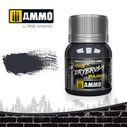 Ammo by MIG Drybrush Panzer Grey For Model Kits MIG 0604
