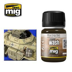 Ammo by MIG Afrika Corp Wash For Model Kits MIG 1001
