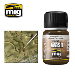 Ammo by MIG Brown Wash For Model Kits MIG 1000