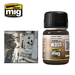 Ammo by MIG Interiors Wash For Model Kits MIG 1003