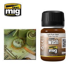 Ammo by MIG Light Rust Wash For Model Kits MIG 1004