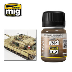 Ammo by MIG Us Modern Vehicles Wash For Model Kits MIG 1007