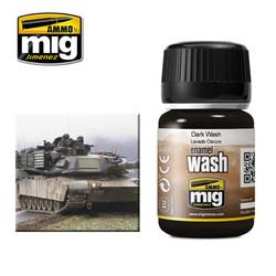 Ammo by MIG Dark Wash For Model Kits MIG 1008