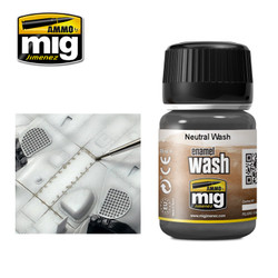 Ammo by MIG Neutral Wash For Model Kits MIG 1010