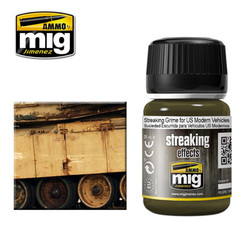 Ammo by MIG Streaking Grime For Us Modern For Model Kits MIG 1207