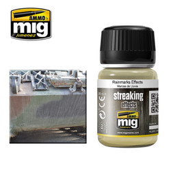 Ammo by MIG Rainmarks Streaking Effects For Model Kits MIG 1208
