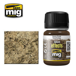 Ammo by MIG Damp Earth Nature Effects For Model Kits MIG 1406