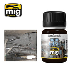 Ammo by MIG Fresh Engine Oil Nature Effects For Model Kits MIG 1408