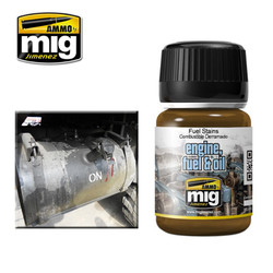Ammo by MIG Fuel Stains Nature Effects For Model Kits MIG 1409