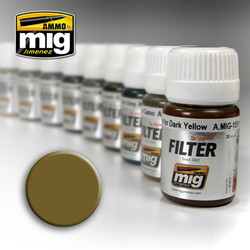 Ammo by MIG Ochre For Light Sand Filter For Model Kits MIG 1503