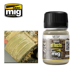 Ammo by MIG Light Dust Nature Effects For Model Kits MIG 1401