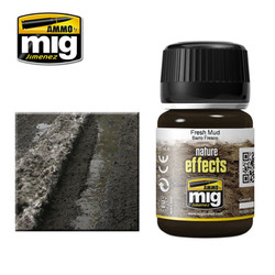 Ammo by MIG Fresh Mud Nature Effects For Model Kits MIG 1402