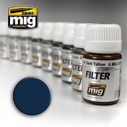 Ammo by MIG Blue For Dark Grey For Model Kits MIG 1509