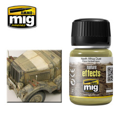 Ammo by MIG Noth Africa Dust Nature Effects For Model Kits MIG 1404