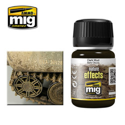 Ammo by MIG Dark Mud Nature Effects For Model Kits MIG 1405