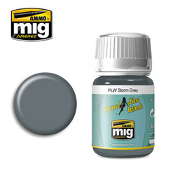 Ammo by MIG Storm Grey Panel Line Wash For Model Kits MIG 1609