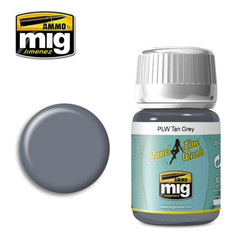 Ammo by MIG Tan Grey Panel Line Wash For Model Kits MIG 1610