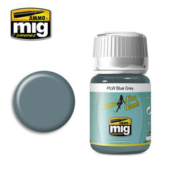 Ammo by MIG Blue Grey Panel Line Wash For Model Kits MIG 1613