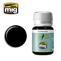 Ammo by MIG Blue Black Panel Line Wash For Model Kits MIG 1617