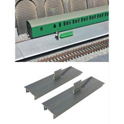 Gaugemaster Station Platform Straights OO Gauge Buildings GM455