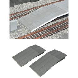Gaugemaster Station Platform Ramps (2) OO Gauge Buildings GM456