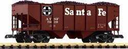 Piko Santa Fe Rib Sided Hopper w/Coal Load PK38918 G Gauge