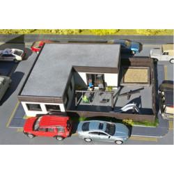 Gaugemaster Structures GM485 Fordhampton Infant School Kit OO Gauge Building Kit