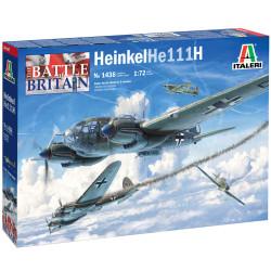 Italeri 1436 Heinkel He-111H-6 1:72 Plastic Model Kit