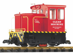 Piko MOW GE 25t Track Cleaning Loco (Battery Powered RC) PK38506 G Gauge