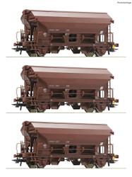 Roco OBB Tds Swing Roof Wagon Set (3) V RC76180 HO Gauge