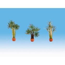 NOCH Palms (3) Ornamental Plants Gauge Scenics HO 14024