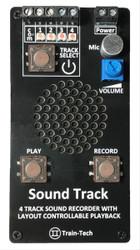Train Tech Sound Track Sound Recorder and Player Z/N/TT/HO/OO/O/G1/G Gauge SR1