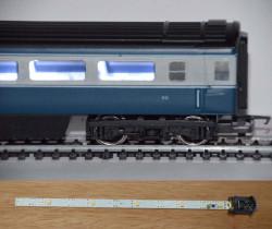 Train Tech Automatic Coach Lighting Multipack - Cool White A (3) HO OO Gauge