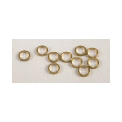"""NSR Axle Spacers 3/32 .020"""" Brass (10) 4812"""