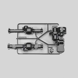 TAMIYA 5519 A Parts for CC-01 58324 Black