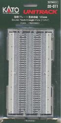 Kato Unitrack (WS186G) Dual Straight Track 186mm 2pcs N Gauge 20-011