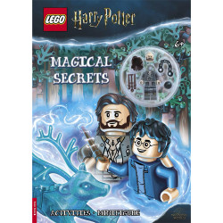 Lego Harry Potter Magical Secrets Book (with Sirius Black minifigure) Age 5+