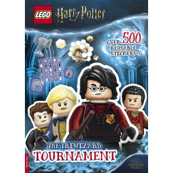 LEGO Harry Potter The Triwizard Tournament Book StickerBook (500 Stickers)