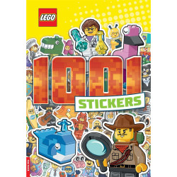 LEGO Iconic 1001 Stickers Book Buster Books