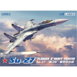 Great Wall Hobby L4824 Su-27 Flanker B Heavy Fighter 1:48 Plastic Model Aircraft Kit