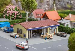 Faller Auto Workshop Hobby Kit w/Lighting III FA232561 N Gauge