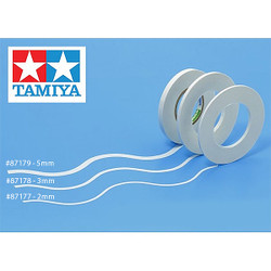 TAMIYA 87177 Masking Tape For Curves 2mm - 20m roll - Accessories/Tools