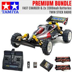 Tamiya RC 58686 Vanquish VQS (2020) Ltd Edition 1:10 Premium Stick Radio Bundle