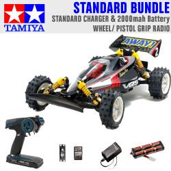 Tamiya RC 58686 Vanquish VQS (2020) Ltd Edition 1:10 Standard Wheel Radio Bundle