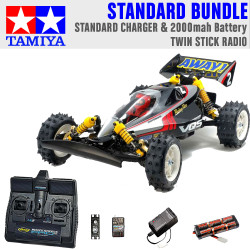 Tamiya RC 58686 Vanquish VQS (2020) Ltd Edition 1:10 Standard Stick Radio Bundle
