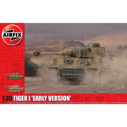 AIRFIX A1357 Tiger 1 Early Production Version 1:35 Tank Model Kit