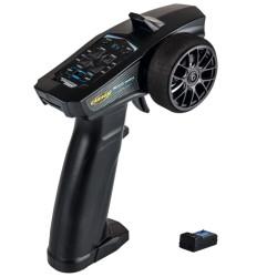 Carson Reflex Wheel Start Radio 2.4G Radio Black with Servo C500102