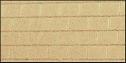 Heljan Large Brick Building Sheets Beige (4) OO Gauge Scenery HN852000